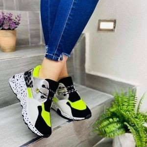 NEW Lime Green Sneakers Size 10